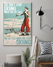 Skiing poster 1-2 11x17 Poster lifestyle-poster-1