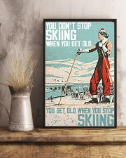 Skiing poster 1-2 11x17 Poster lifestyle-poster-3