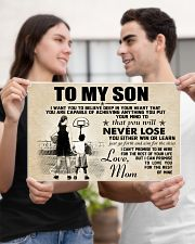 Basketball - To my son - Poster 17x11 Poster poster-landscape-17x11-lifestyle-20