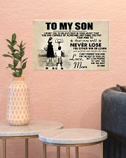 Basketball - To my son - Poster 17x11 Poster poster-landscape-17x11-lifestyle-21
