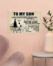 Basketball - To my son - Poster 17x11 Poster poster-landscape-17x11-lifestyle-22