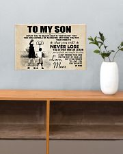 Basketball - To my son - Poster 17x11 Poster poster-landscape-17x11-lifestyle-24