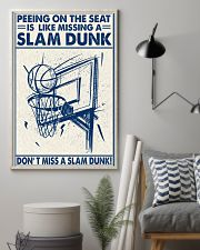 Basketball poster - Don't miss a slam dunk 11x17 Poster lifestyle-poster-1