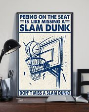 Basketball poster - Don't miss a slam dunk 11x17 Poster lifestyle-poster-2