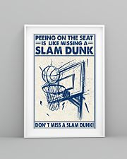 Basketball poster - Don't miss a slam dunk 11x17 Poster lifestyle-poster-5