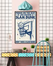 Basketball poster - Don't miss a slam dunk 11x17 Poster lifestyle-poster-6