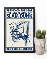 Basketball poster - Don't miss a slam dunk 11x17 Poster lifestyle-poster-8