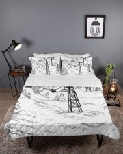 Skiing bed set 1 Queen Quilt Bed Set aos-queen-quilt-bed-set-lifestyle-front-03
