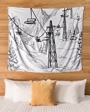 """Tapestry 2 Wall Tapestry - 60"""" x 51"""" aos-wall-tapestry-80x68-lifestyle-front-03"""