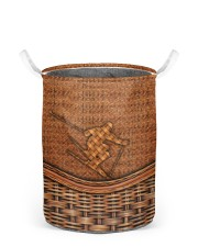 Skiing laundry basket 4 Laundry Basket - Small back