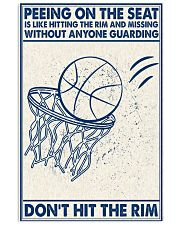 Basketball poster - Don't hit the rym 11x17 Poster front