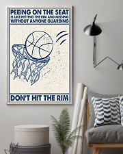 Basketball poster - Don't hit the rym 11x17 Poster lifestyle-poster-1