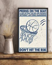 Basketball poster - Don't hit the rym 11x17 Poster lifestyle-poster-3