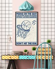 Basketball poster - Don't hit the rym 11x17 Poster lifestyle-poster-6