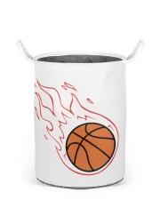Basketball - Laundry basket 2 Laundry Basket - Small front