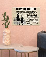 Basketball - To my daughter - Poster 17x11 Poster poster-landscape-17x11-lifestyle-21