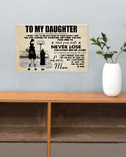 Basketball - To my daughter - Poster 17x11 Poster poster-landscape-17x11-lifestyle-24