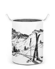 Skiing laundry basket 2 Laundry Basket - Small front