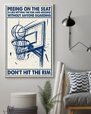 Basketball poster - Don't hit the rim 11x17 Poster lifestyle-poster-1