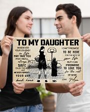 Basketball - To my daughter - Poster 17x11 Poster poster-landscape-17x11-lifestyle-20