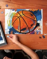 Basketball puzzle 2 250 Piece Puzzle (horizontal) aos-jigsaw-puzzle-250-pieces-horizontal-lifestyle-front-02