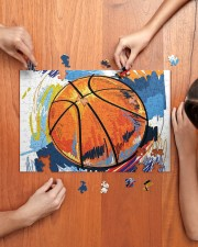 Basketball puzzle 2 250 Piece Puzzle (horizontal) aos-jigsaw-puzzle-250-pieces-horizontal-lifestyle-front-07
