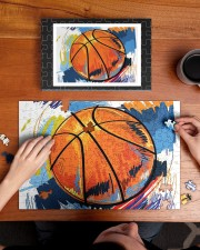 Basketball puzzle 2 250 Piece Puzzle (horizontal) aos-jigsaw-puzzle-250-pieces-horizontal-lifestyle-front-11
