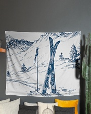 """Tapestry 4 Wall Tapestry - 60"""" x 51"""" aos-wall-tapestry-80x68-lifestyle-front-01"""