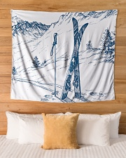 """Tapestry 4 Wall Tapestry - 60"""" x 51"""" aos-wall-tapestry-80x68-lifestyle-front-03"""