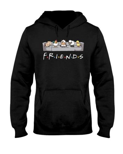 Vegan shirt friends