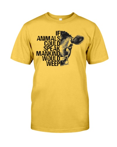 Vegan shirt if animals could speak