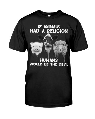 Vegan  if animals had a religion