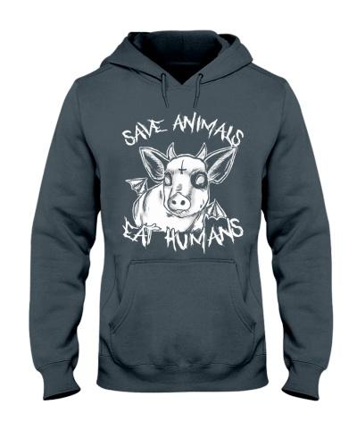 Vegan shirt save animals eat humans