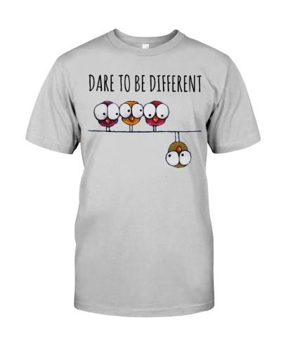 Vegan shirt dare to e different
