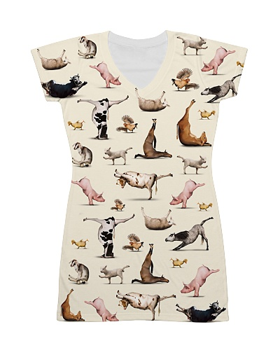 Vegan shirt animal yoga veganism vegetarian shirt