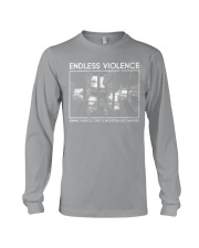 Vegan animal right endless violence  Long Sleeve Tee thumbnail