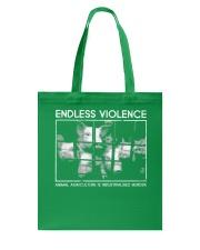 Vegan animal right endless violence  Tote Bag thumbnail