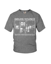 Vegan animal right endless violence  Youth T-Shirt thumbnail