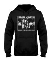 Vegan animal right endless violence  Hooded Sweatshirt thumbnail