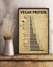 Vegan protein 11x17 Poster lifestyle-poster-3