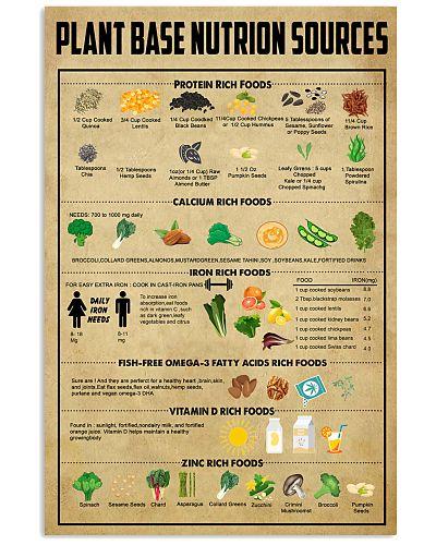Plant base nutrition sources