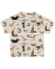 Vegan shirt animal yoga veganism All-over T-Shirt back