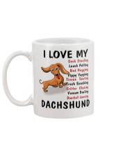 dachshund mug Mug back