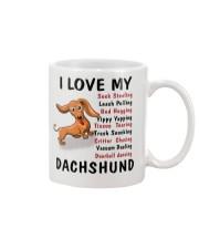 dachshund mug Mug front