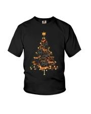 Dachshunds Christmas Shirt Youth T-Shirt thumbnail