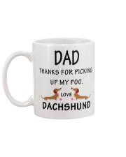 Dachshund love Mug back