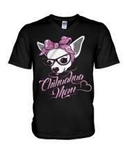 Chihuahua Mom V-Neck T-Shirt thumbnail