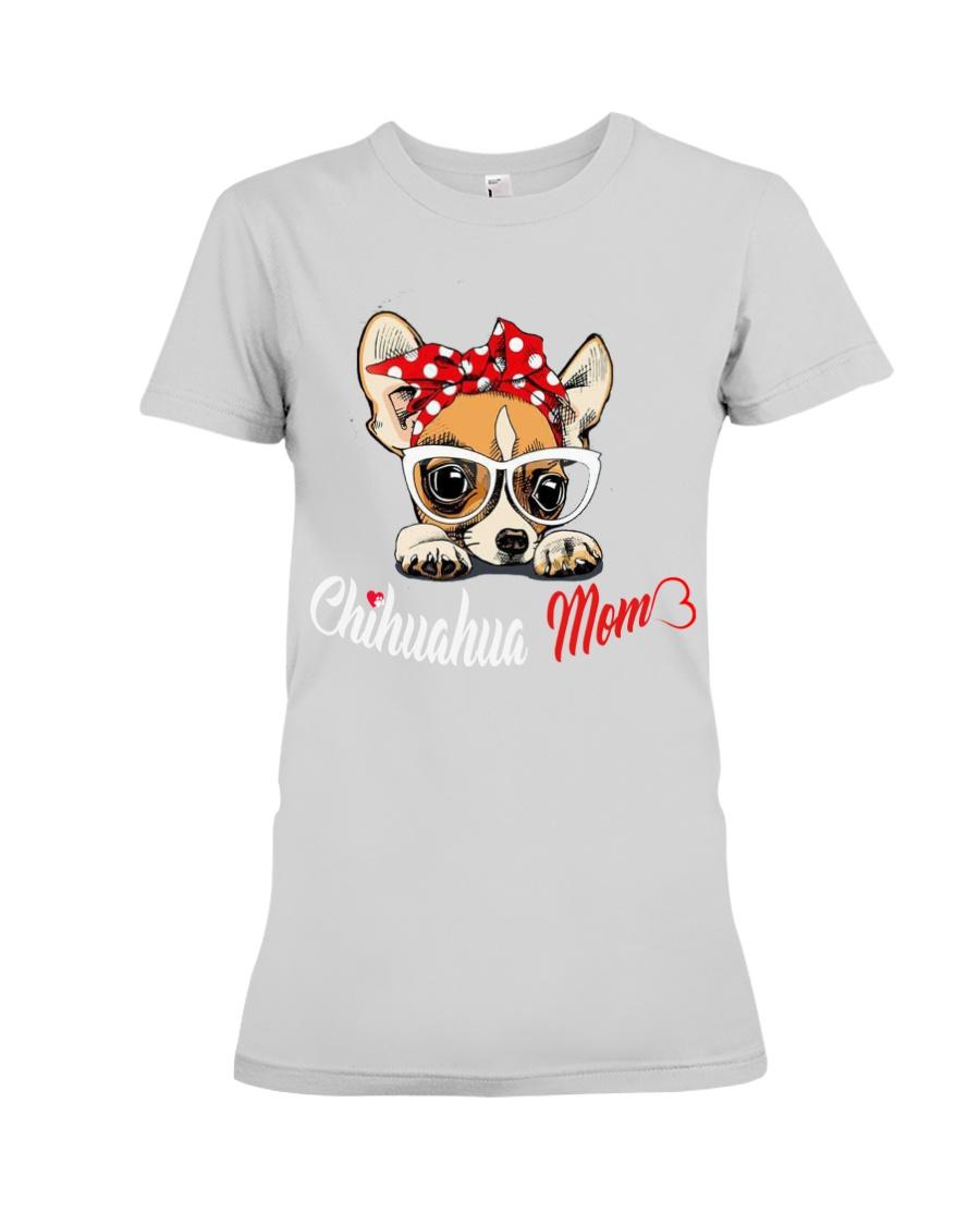 Chihuahua Mom t-shirt Premium Fit Ladies Tee