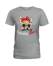 Chihuahua Mom t-shirt Ladies T-Shirt thumbnail