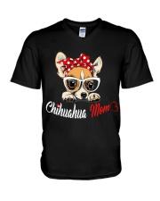 Chihuahua Mom t-shirt V-Neck T-Shirt thumbnail